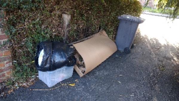 Flytipped items no evidence taken -53 Ashburton Road, Reading, RG2 7PA