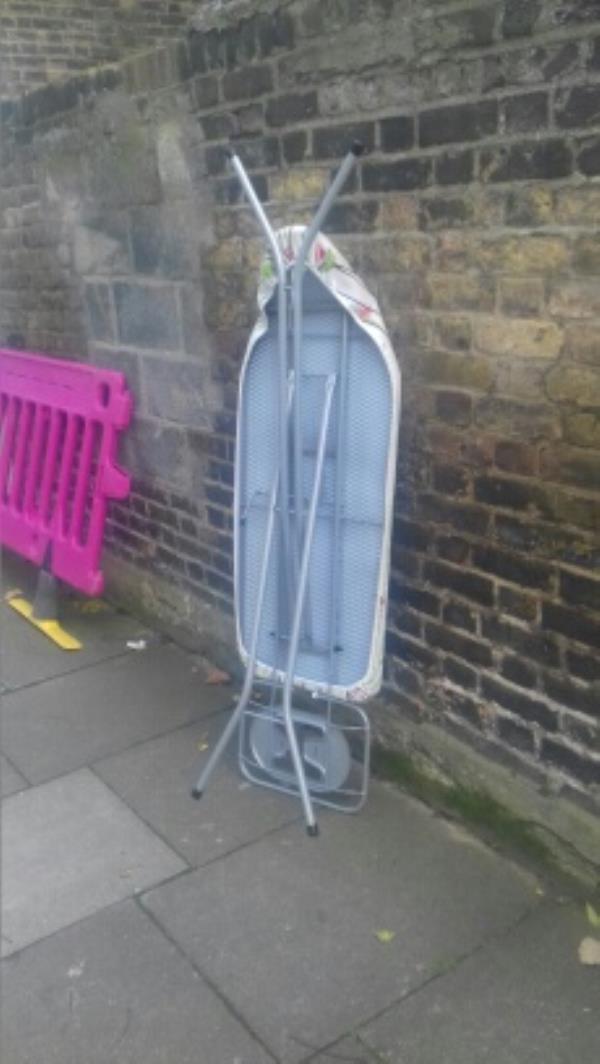 Ironing board dumped opposite 95 Patrick Road -86 Patrick Road, London, E13 9QE