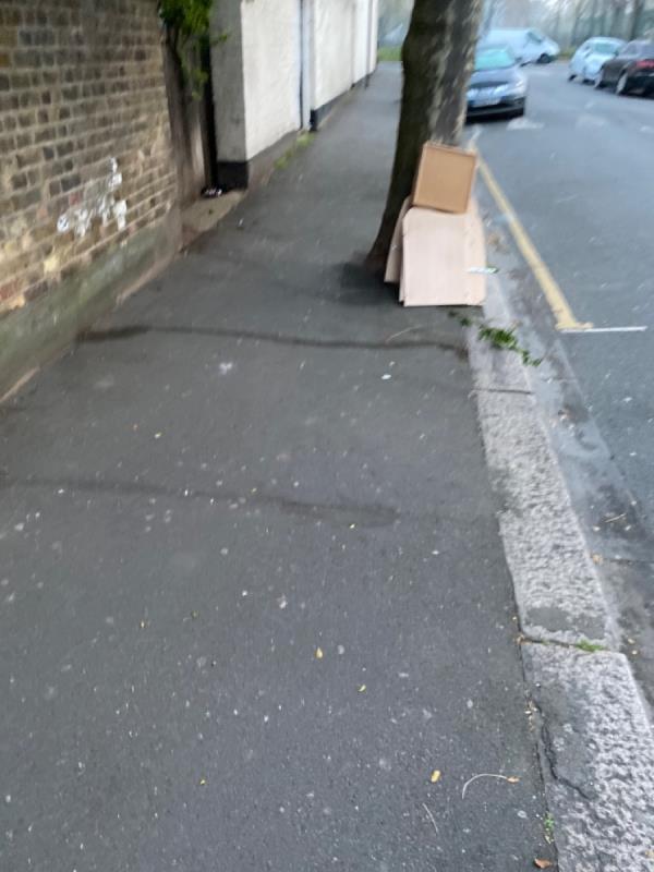 Dumped rubbish -9 Pulleyns Avenue, East Ham, E6 3NA