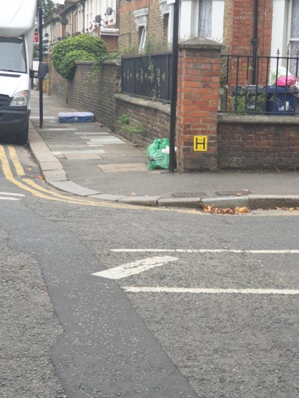 2 fly tips-17 Beaconsfield Road, London, UB1 1BW