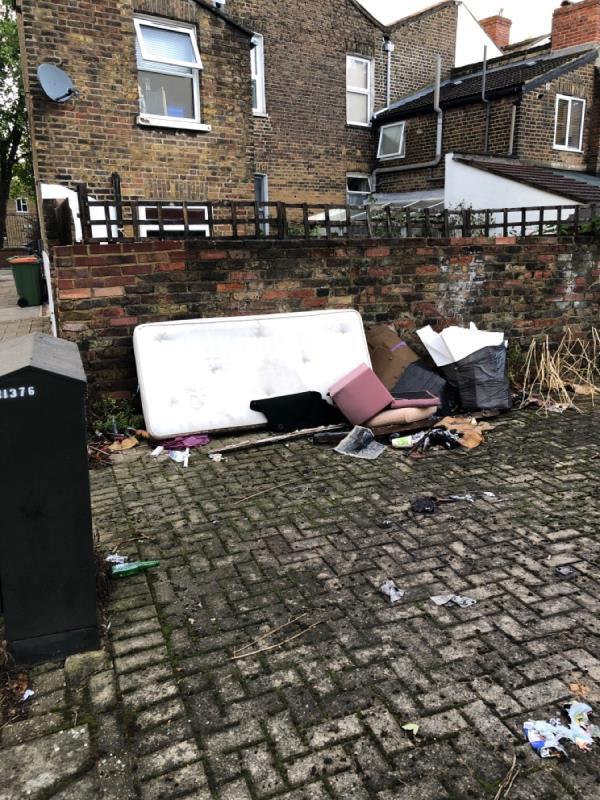 General rubbish -7 West Road, London, E15 3PX