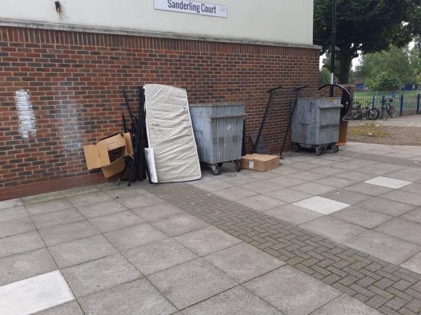 cleared -Shearwater Court Abinger Grove, London, SE8 5SR