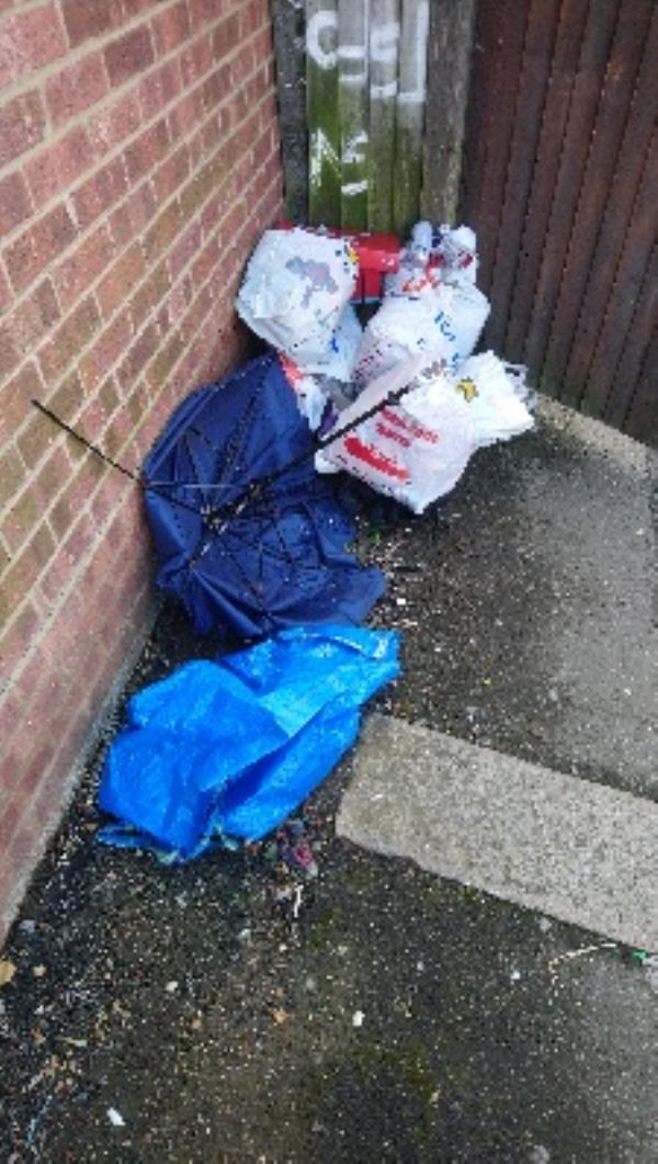 Household rubbish -49 Beresford Road, Reading, RG30 1BX