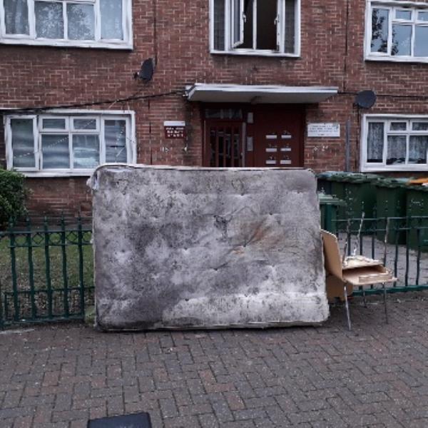 1 mattress 2 chairs -22a Greenhill Grove, London, E12 6BA