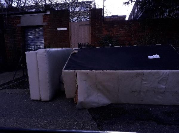 fly tip sofa-Holden Point Waddington Road, London, E15 1PJ