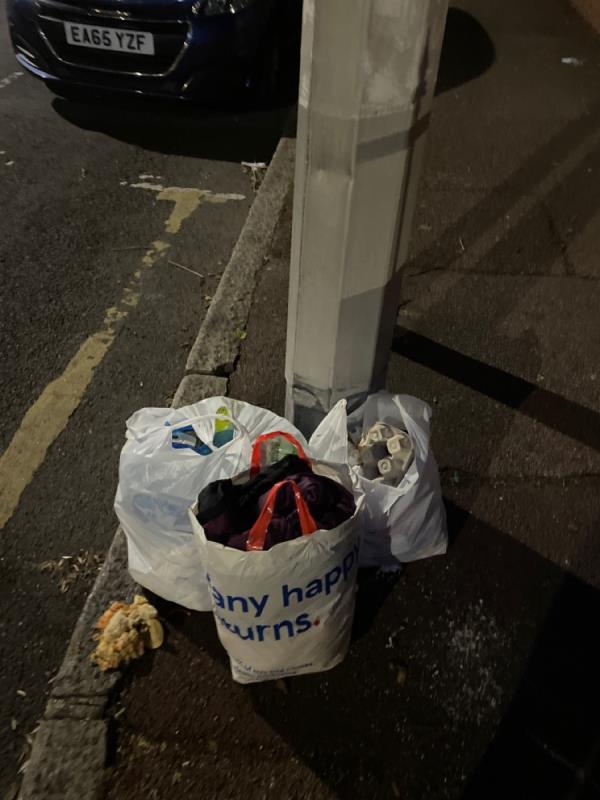 Rubbish -83 Essex Road, Manor Park, E12 6QR
