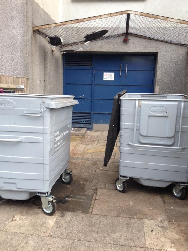 Wash down bin stores-Wensley Court, 193 Wensley Road, Reading, RG1 6EA