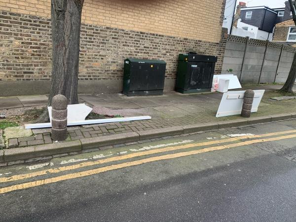 As seen in pictures -56a Liddington Road, London, E15 3PJ