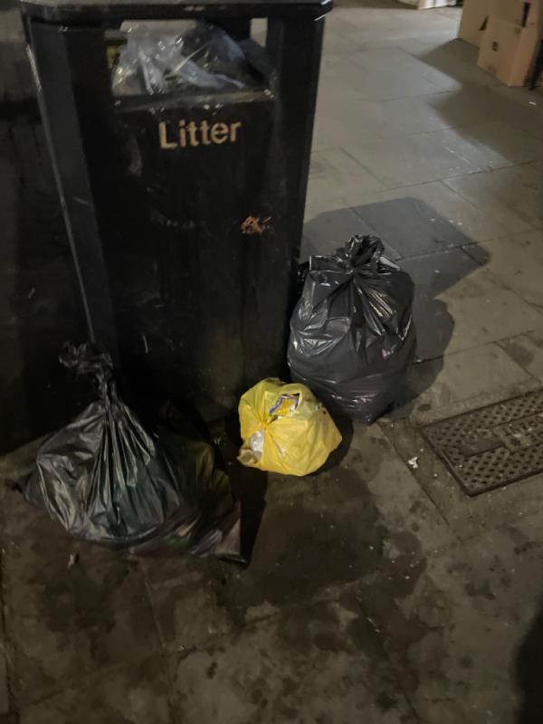 Rubbish all over -37b Upton Lane, London, E7 9PA