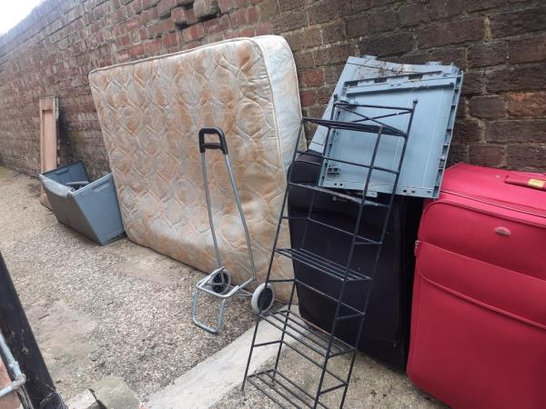metal plastic suitcases mattress wood-77 Vancouver Road, London, SE23 2AH