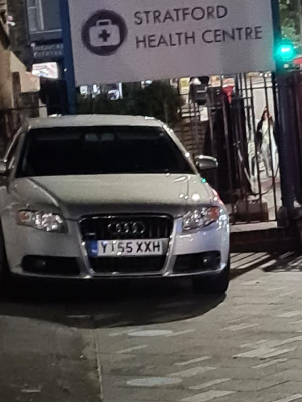 car illegally parked on pavement again image 1-127a The Grove, London, E15 1EN