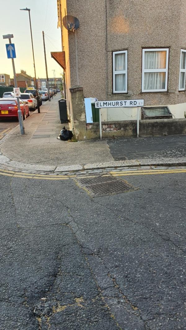 black bag-39a St Antonys Road, London, E7 9QA