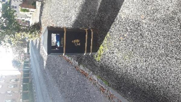 full bin opposite lamppost no 10 the grove -18 Ascot Court, Aldershot, GU11 1HG