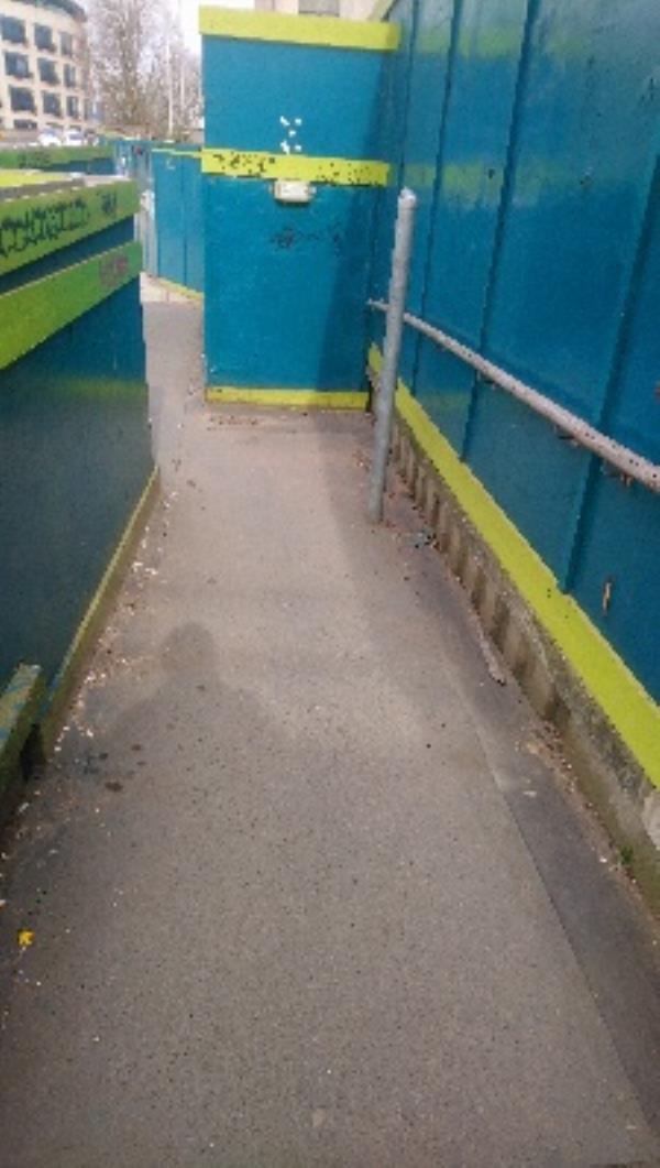 Regarding litter, all done. -Vastern Road, Reading, RG1 8DB
