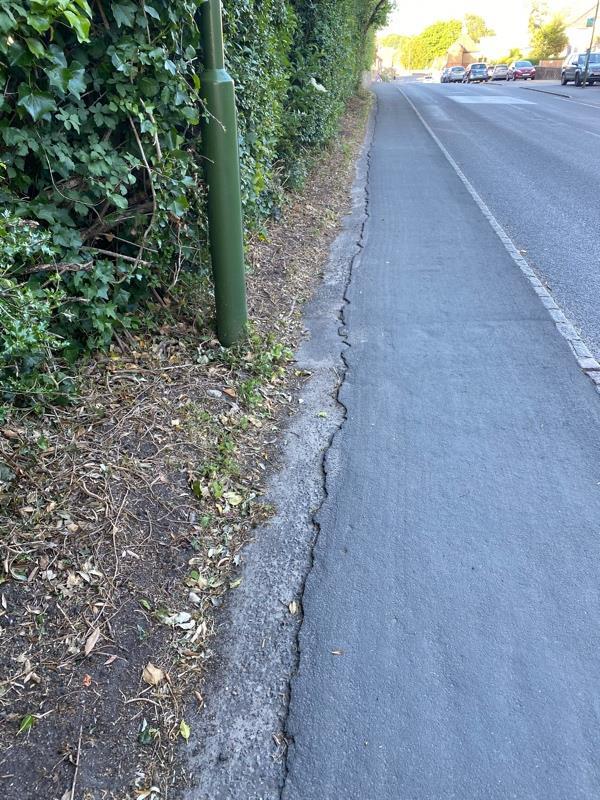 Uneven surface -Woodcroft Bepton Road, Midhurst, GU29 9HH