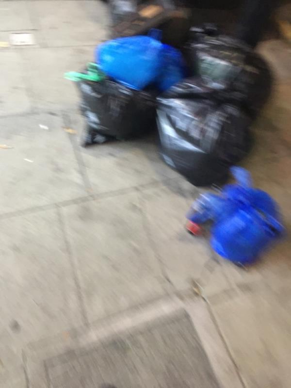 Rubbiah dumped-832a Romford Road, Manor Park, E12 5JG