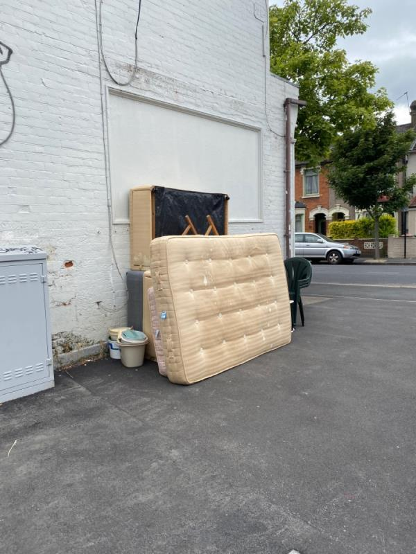 Flytipping-181-183 Boundary Road, Plaistow, E13 9QF