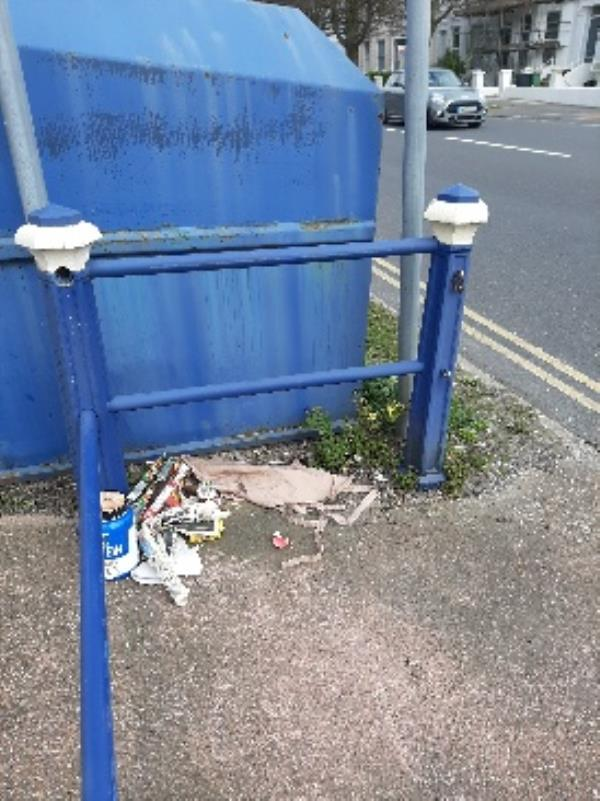 SEESL EBC Zone2 nf JN 2/4/20 @ 2.10pm please could you collect the items that have been left at the old bring site on The Avenue.  no evidence no witnesses just needs clearing   regards-1 Upperton Gardens, Eastbourne, BN21 2AA
