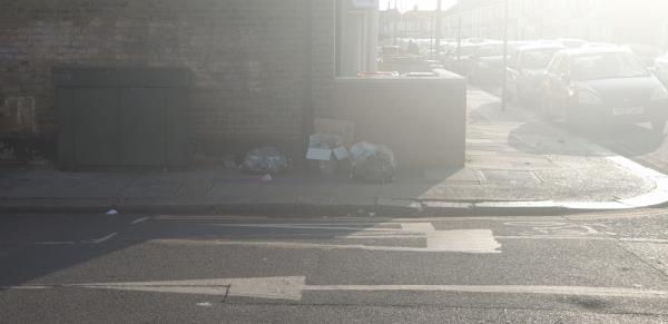 this is has also been uncollected for a few days now-51 Whyteville Road, Upton Park, E7 9LP