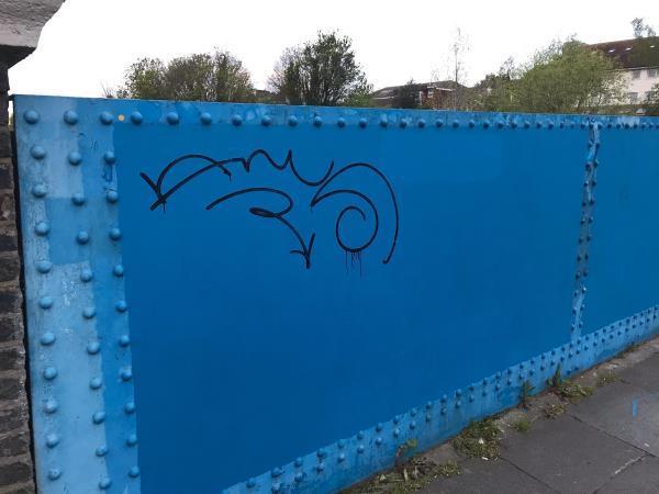 2 meter paint -Matthews Court Vesta Road, Brockley, SE14 6RG