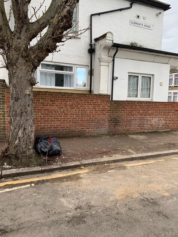 On the corner of Clements road every time people throw those rubbish underneath the tree. It's should to be stopped -149a Altmore Avenue, London, E6 2