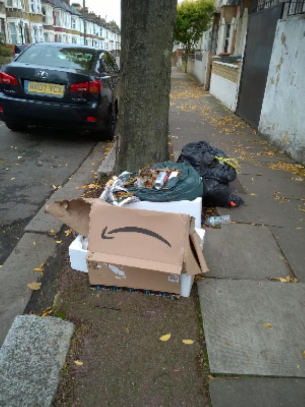 bag, cardboard box-120 Portway, London, E15 3QJ