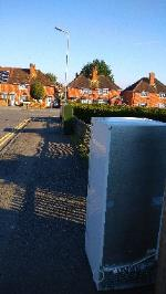 A paid collection or flytipped fridge? Been here for a few weeks if a flytipped  fridge will need a two man lifted  image 1-2 Blandford Road, Reading, RG2 8RD