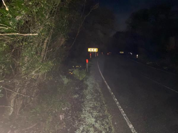 VERY DANGEROUS!!! ACCIDENT BLACKSPOT!!!  Feckwit sign installers have installed brand new chevron boards pointing the wrong way into the woodland instead of around the bends in Titnore Lane. PLEASE DEAL IMMEDIATELY!  image 2-South Lodge Titnore Lane, Worthing, BN13 3UG