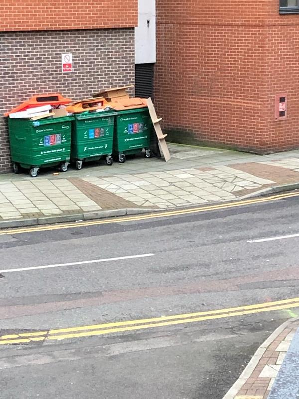 Dumped furniture -4 Cam Road, London, E15 2SN