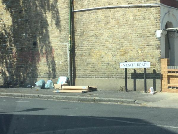Spencer rd close to junction withEversleigh rd-8 Eversleigh Road, London, E6 1HG