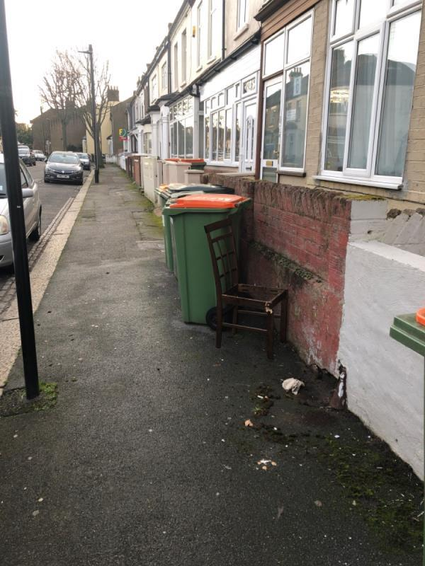 Chair-94 Warwick Road, London, E15 4LA