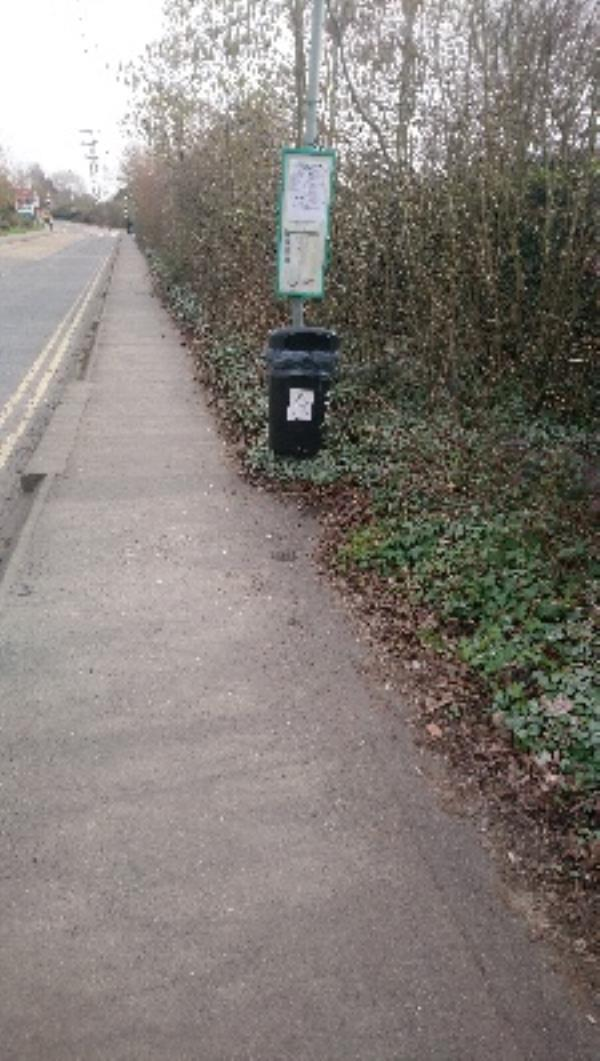 Regarding bin over flowing, napier Road all done. -41 Napier Road, Reading, RG1 8AB