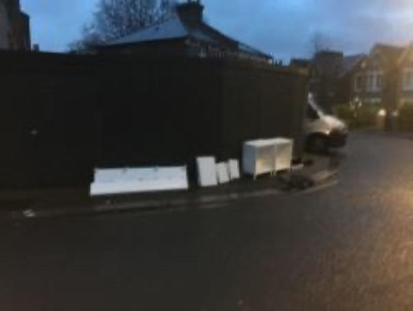 Please clear flytip-1 Holly Hedge Terrace, London, SE13 5HQ