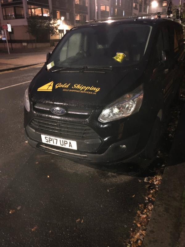 Potential abandoned vehicle. Has not moved for weeks and parking tickets have not been picked up by owner/driver-16 Honour Lea Ave, London E20 1HH, UK