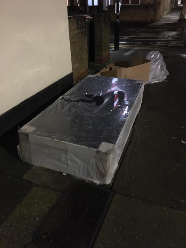 Flytip-84 Mitcham Road, London, E6 3NG