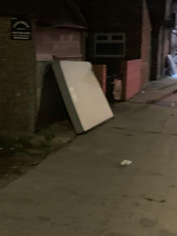 Fly tip -292B Barking Rd, East Ham, London E6 3BA, UK