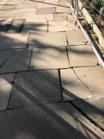 Dangerous uneven broken pavement is located opposite 27 Mount Park Road W5 - this is due to building work at the location which appears to be finished. A large strech of pavement is damaged  image 2-24-26 Mount Park Road, Ealing, W5 2RS