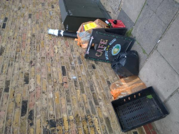 plumming waste-24 St George's Road, London, E7 8HY