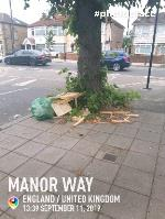 fly tip  image 1-1 Manor Way, London, UB2 5JJ