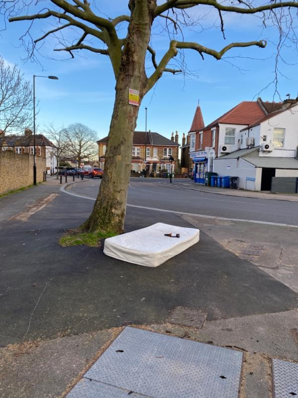 Mattress, again! Please install temporary cctv if possible-88 Blythe Vale, London SE6 4NW, UK