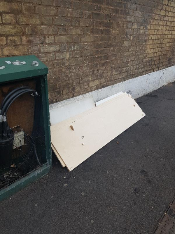 end of First Avenue corner. furniture dumped. also same on Meanley road. please cctv camera for evidence as to who is doing this. thanks.-688 Romford Road, Manor Park, E12 5AJ