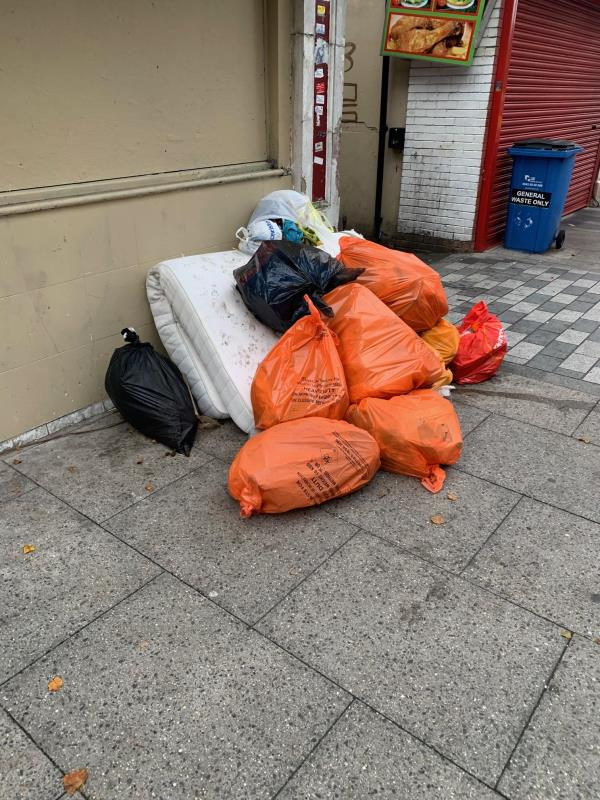 flytipping usual place-61a Dartmouth Road