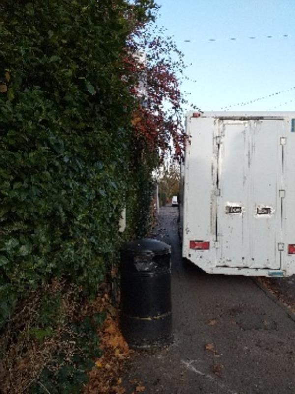 Bus stop obscured by foliage-96 Tilehurst Road, Reading, RG30 2LU