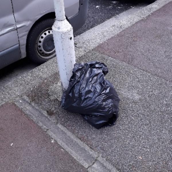 1 bag of clothing -263 Monega Road, London, E12 6TS