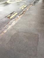 Sections of double yellow lines missing  image 1-25 Erleigh Road, Reading, RG1 5LR