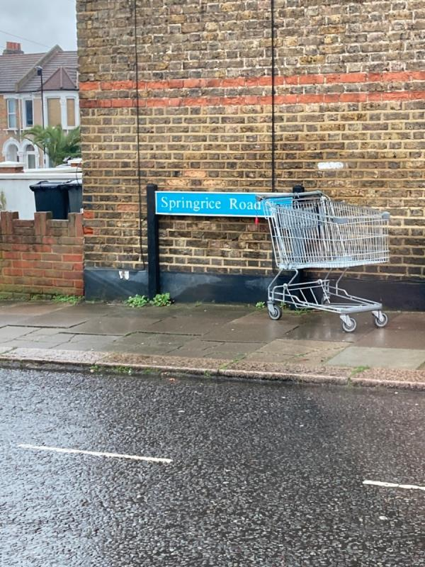 SHOPPING TROLLEY -156a George Lane, London, SE13 6RY