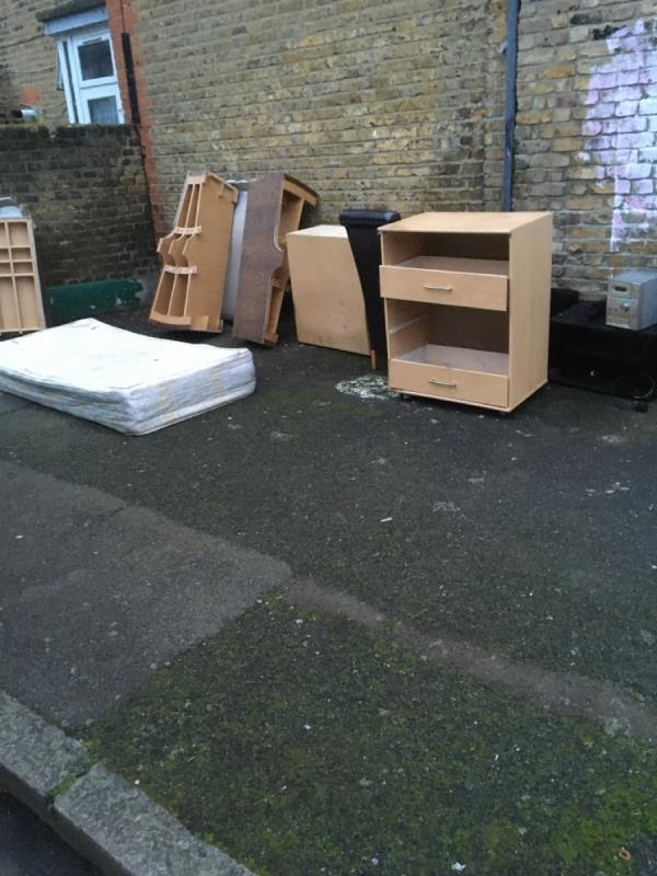 Bedroom furniture mattress etc corner Clacton Road and boundary rd -151 Boundary Road, London, E13 9QF
