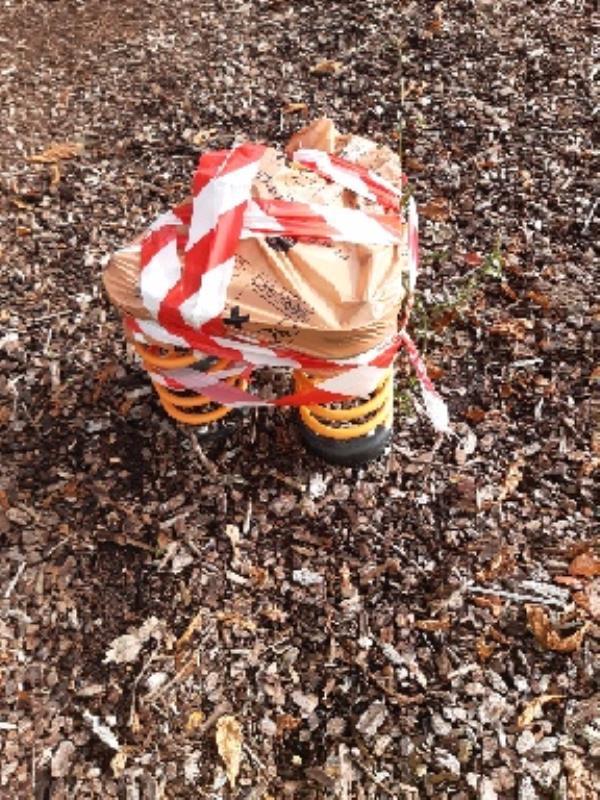 P.G.I playground equipment condemned -250 Tilehurst Road, Reading, RG30 2NE