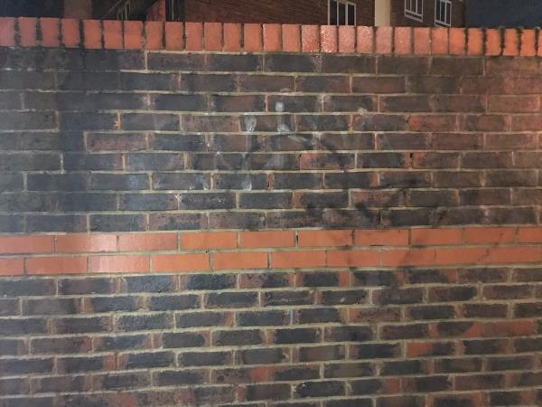 Wall blast 2m  image 1-Backpackers Hostel And Hotel, 323a New Cross Road, London, SE14 6AS