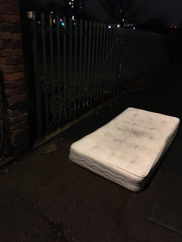 Mattress -31 Valetta Grove, London, E13 0JR